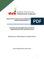 Plan de Salvaguardia Balsas 2014