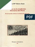Lima en La Tradicion Literaria Del Peru de La Leyenda Urbana a La Disolucion Del Mito