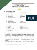 Silabo de Fisica i (II) 2016 - i Alumnos