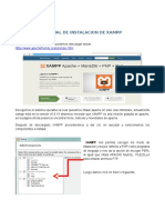 Manual de Instalacion de Xampp
