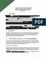 UC Berkeley - Narvaez investigation report