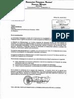 Información de Maestria en Bibliotecología