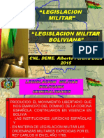 Exposicion Emi 03. Leg. Mil. Boliviana Cnl. Pereira