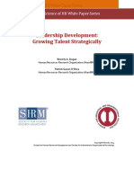 Leadership Development- Growing Talent Strategically