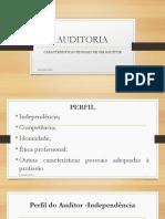 Características Pessoais de Um Auditor