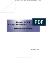 D115, D116 Service Manual (SPANISH)