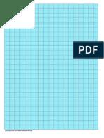 Graph Paper Blue