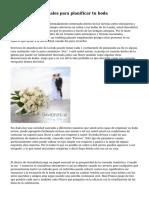 Uso de medios sociales para planificar tu boda