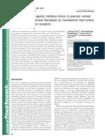 Melatonin Protects Against Oxidative Stress in Granular Corneal Dystrophy Type 2 Corneal Fibroblasts by Mechanisms That Involve Membrane Melatonin Receptors.
