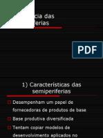 5- Emergência das semiperiferias