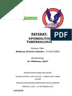 Referat SPondilitis TB