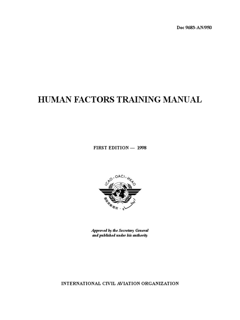 manual ffhh oaci ingles human factors and ergonomics sleep rh scribd com