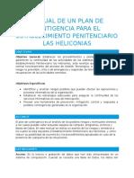 Manual de Un Plan de Contigencia Para El Establecimiento Penitenciario Las Heliconias