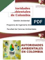 Autoridades Ambientales en Colombia