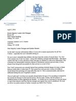 Eric Schneiderman letter