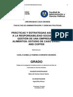 Practicas y Estrategias Asociadas a La Responsabilidad Social