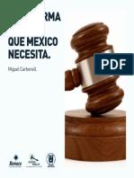 La Reforma Penal Que M Xico Necesita