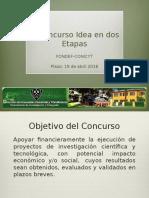 Fondef-idea Dos Etapas
