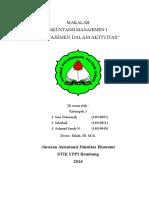 Makalah Akuntansi Manajemen 1