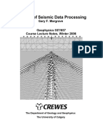 Methods of Seismic Data Processing,