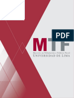 Escuela de Posgrado Mtf Ulima 2015 Folleto