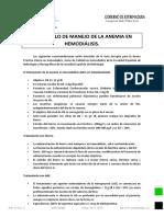 Protocolo Anemia Hemodialisis
