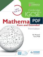 cambridge igcse mathematics core and extended 3rd
