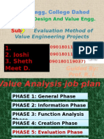 Evaluation Method of Value Engineering Projects