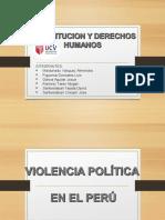 Violencia Politica en El Peru y Dd.hh Semana 12 Grupo 1