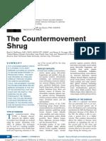 The Countermovement Shrug