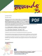 Carta de Presentacion revista Innovando Ok