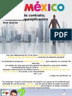 Pro Mexico contrato compra venta