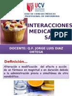 Sesion 3-Interacciones Medicamentosas y Receptores