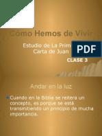 1 Juan Clase 3