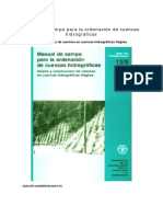 Manual de Campo Obras Hidraulicas Fao
