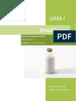 Emulsiones Practica 8