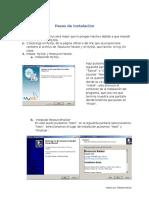 Pasos de Instalación y Configuracion MySql