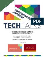 Tech Talks - Technology Showcase