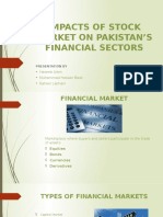 Impacts of Stock Market on Pakistan's Financial Sectors