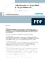 Designing in safety by reducing the Arc Flash hazard in LV switchboards-Siemens (Aug2010).pdf