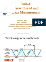 Screw Thread and Gear Measurement
