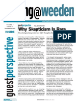 Why Skepticism Is Rare 110405 - James Montier
