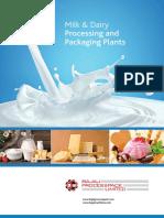 Bajaj Processpack Limited Provides Fresh Flavored Milk Processing Plant