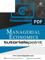 Managerial Economics Tutorial
