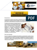Brochure Gestion Maquinaria Pesda Pucp