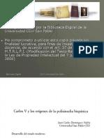 CarlosV polisinodia