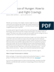 The Science of Hunger How to Control It and Fight Cravings