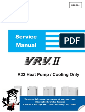 Daikin Vrv Ii R 22 Air Conditioning Mechanical Fan