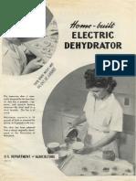 Home-Built Electric Dehydrator