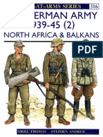 The German Army 1939-45 (2) North Africa & Balkans
